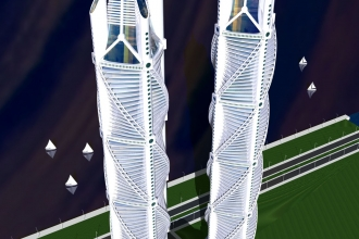 HELIX TOWERS FRONT
